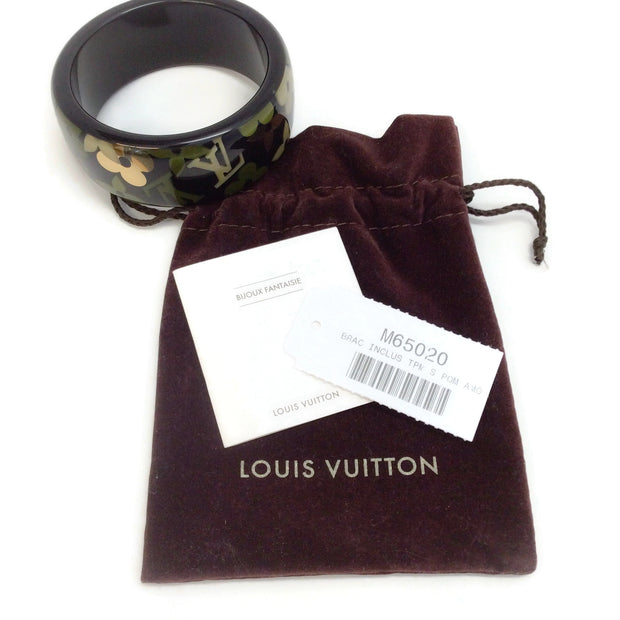 Louis Vuitton Black Inclusion Bracelet