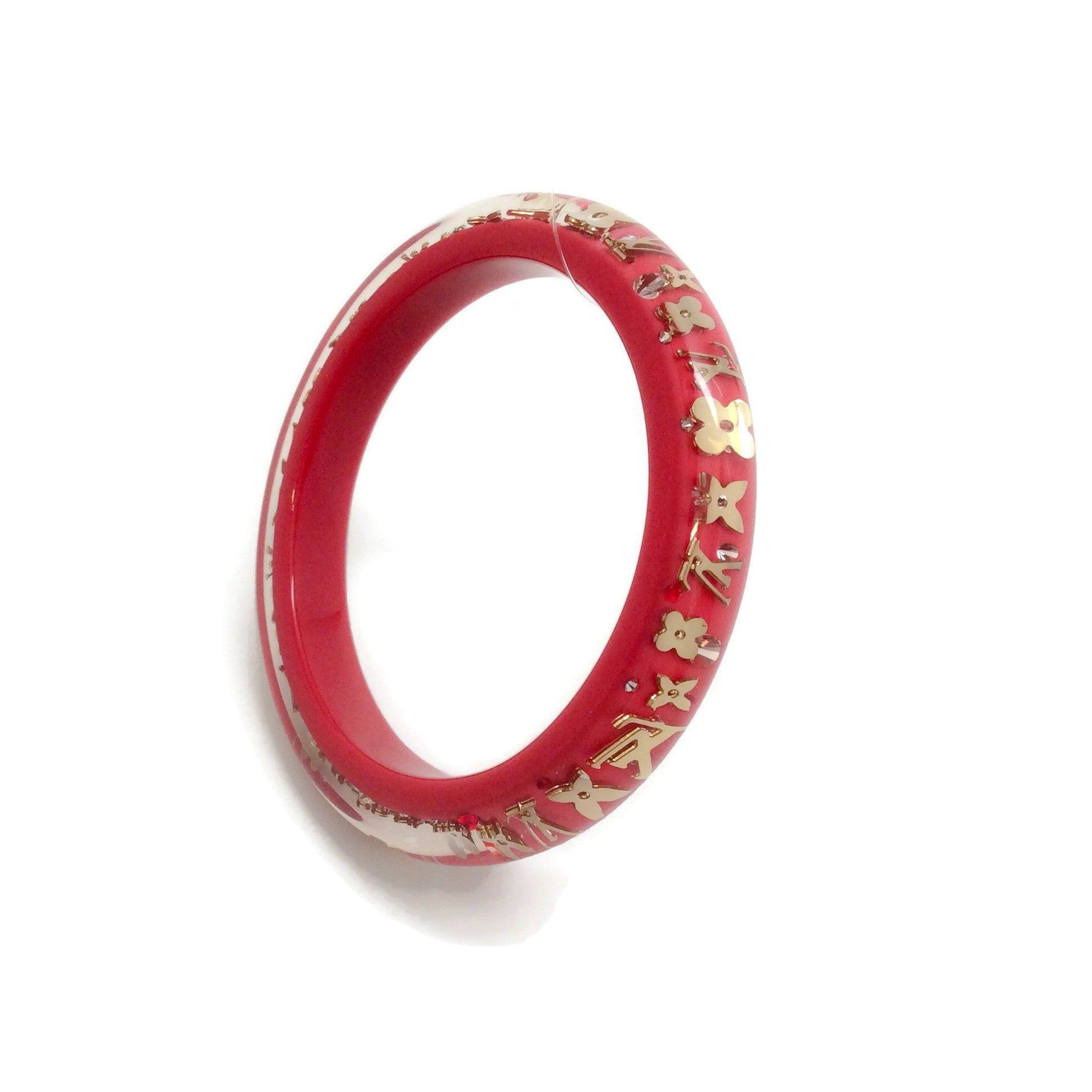 Louis Vuitton Red Inclusion Pm Bracelet