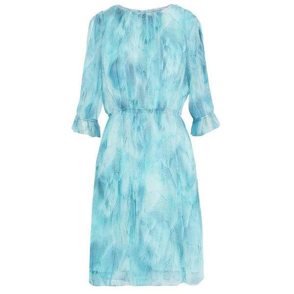 Elie Tahari Blue Luciana Dress