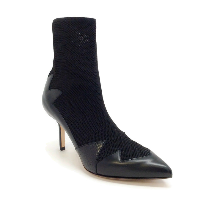 Francesco Russo Black Water Snake with Sock Boots