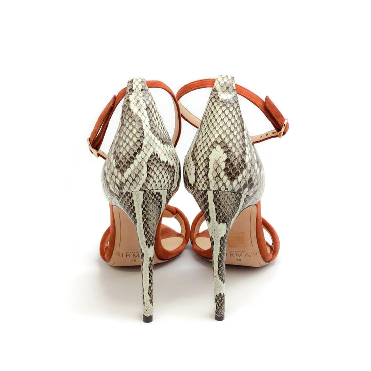 Alexandre Birman Rust / Natural Malica Sandals