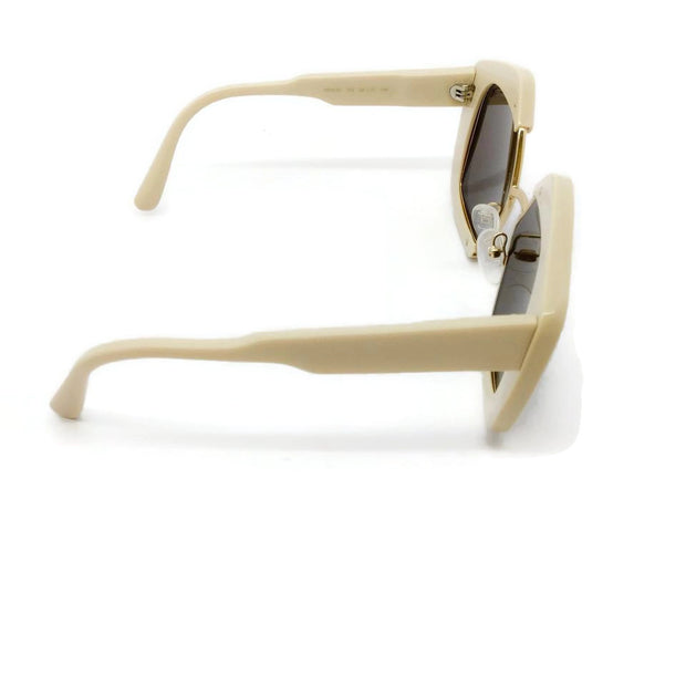 Marni Ecru Edge Sunglasses