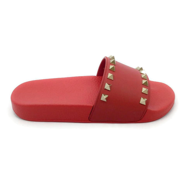 Valentino Red Rockstud Sandals