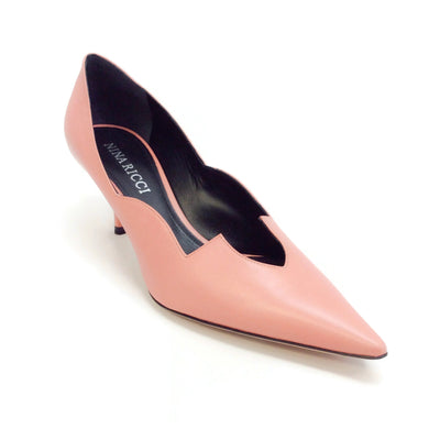 Nina Ricci Coral Cut Out Pumps