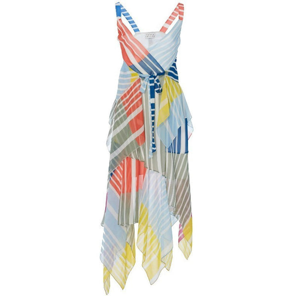 Tanya Taylor Multi-color Goldie Casual Maxi Dress