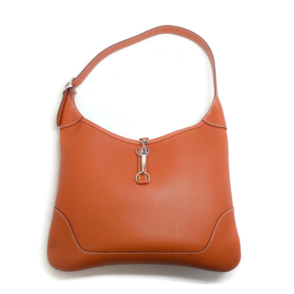 Hermès Tan Clemence Trim 31 Shoulder Bag