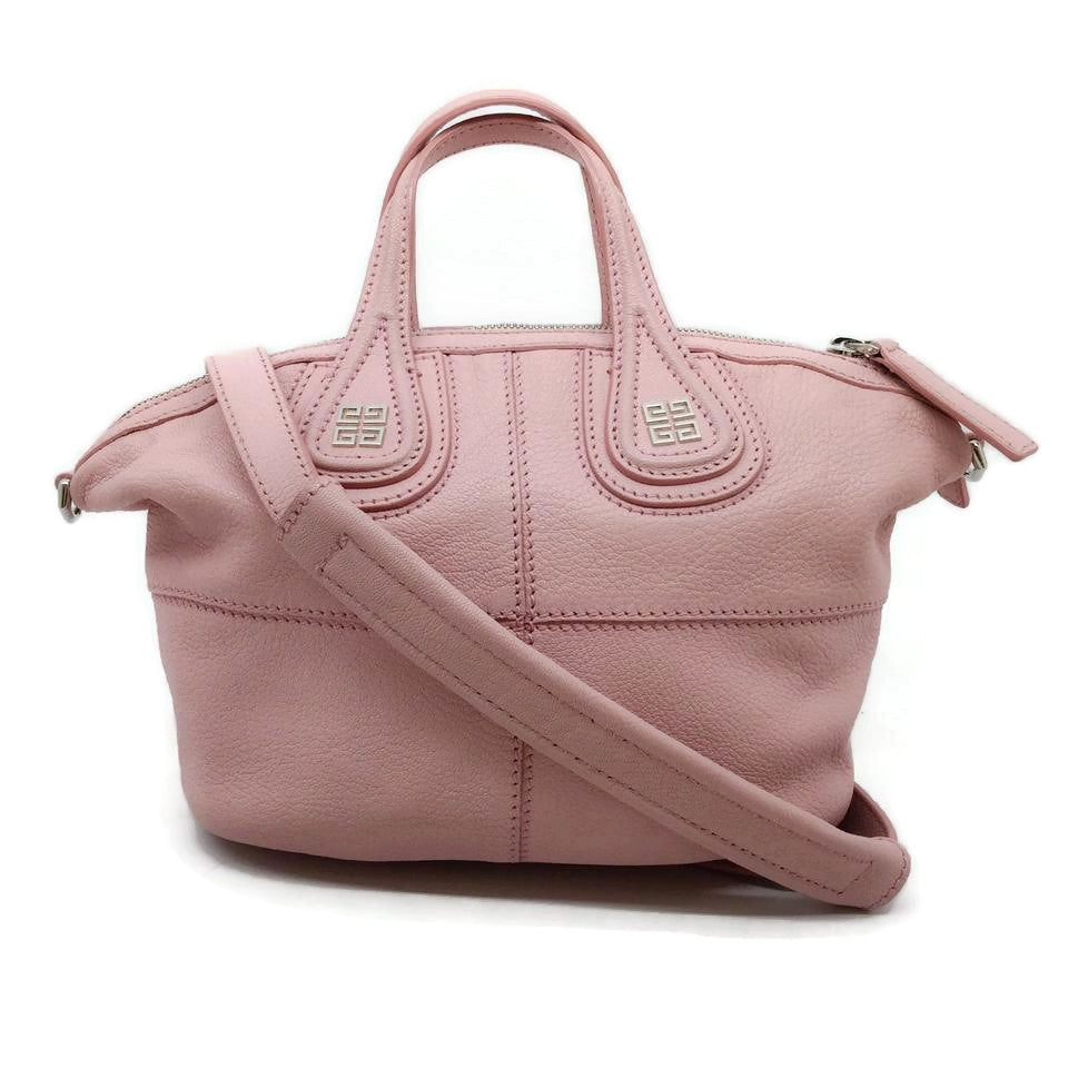 Givenchy Micro Nightingale Light Pink Leather Cross Body Bag