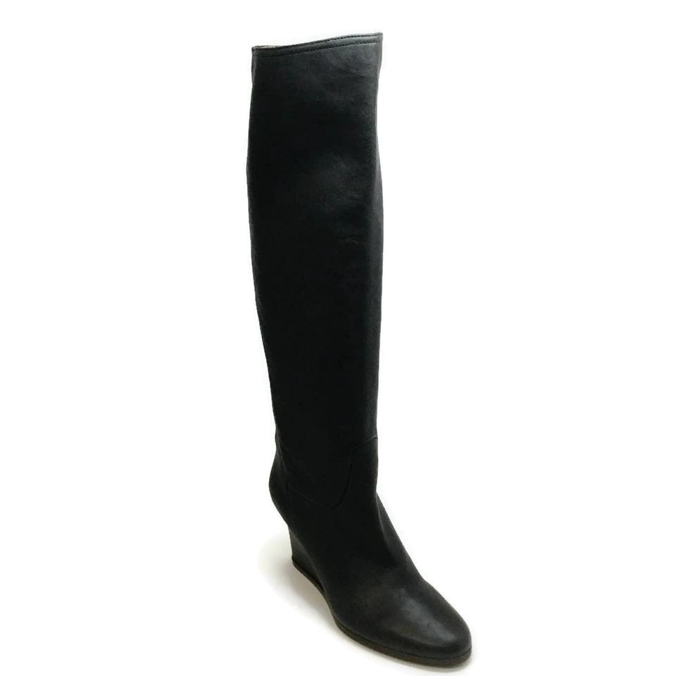 Lanvin Black Leather Boots