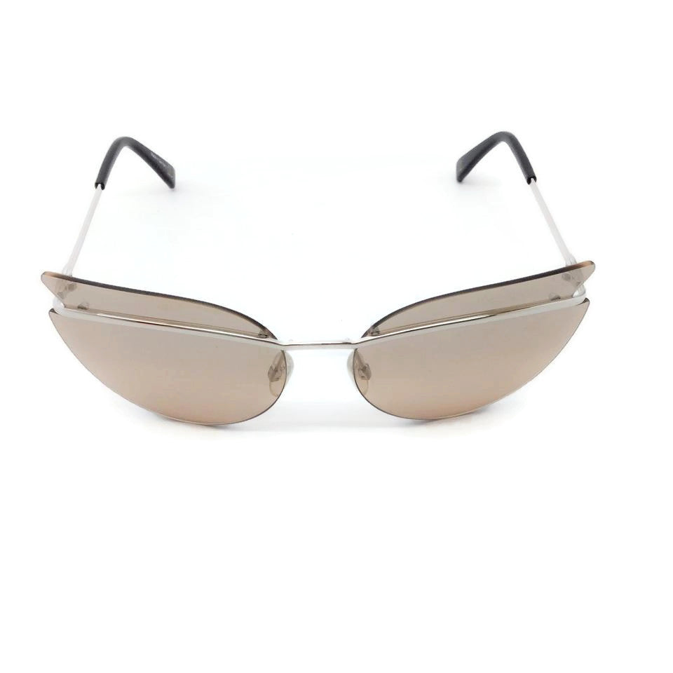 L'Wren Scott Light Pink / Silver Frameless Sunglasses