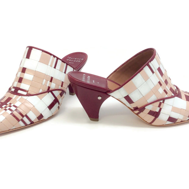 Laurence Dacade Nude / Oxblood Stefany Mules