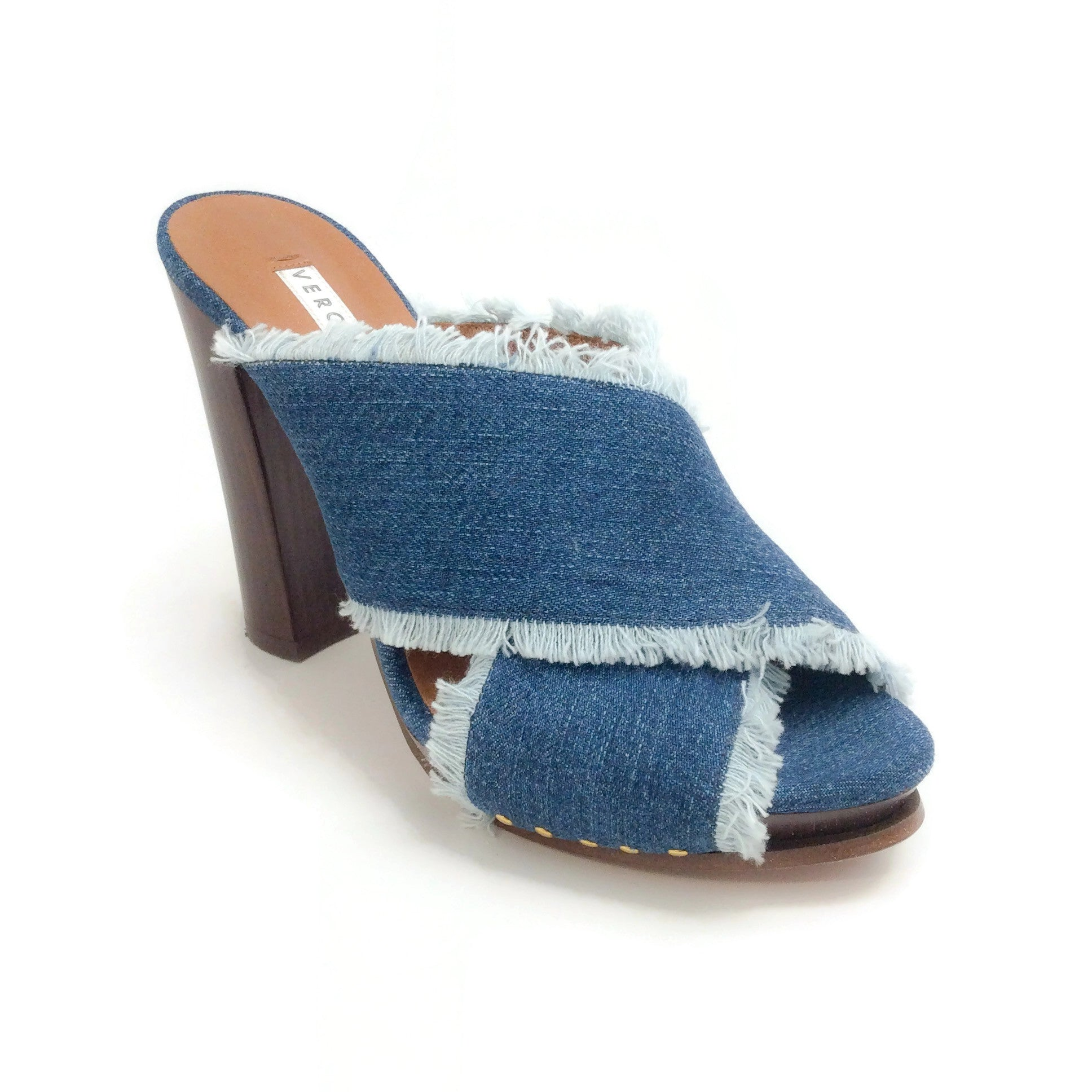 Veronica Beard Denim Holt Sandals