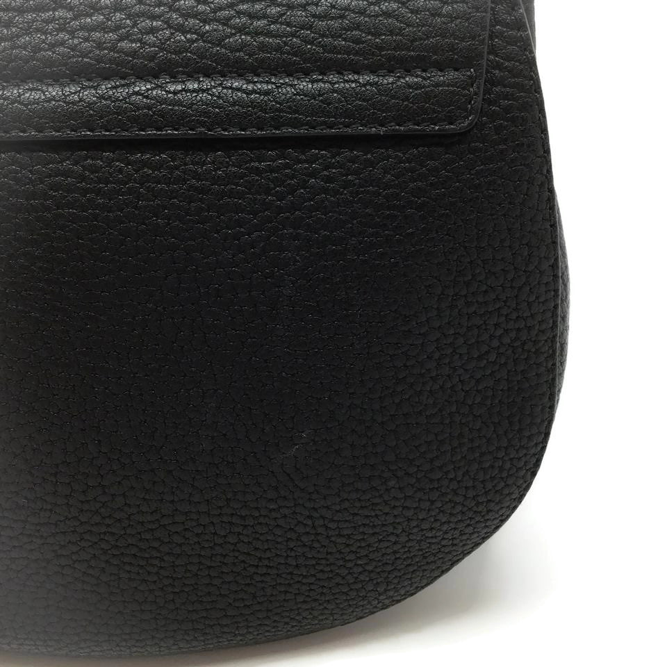 Chloé Black Leather Drew Cross Body Bag