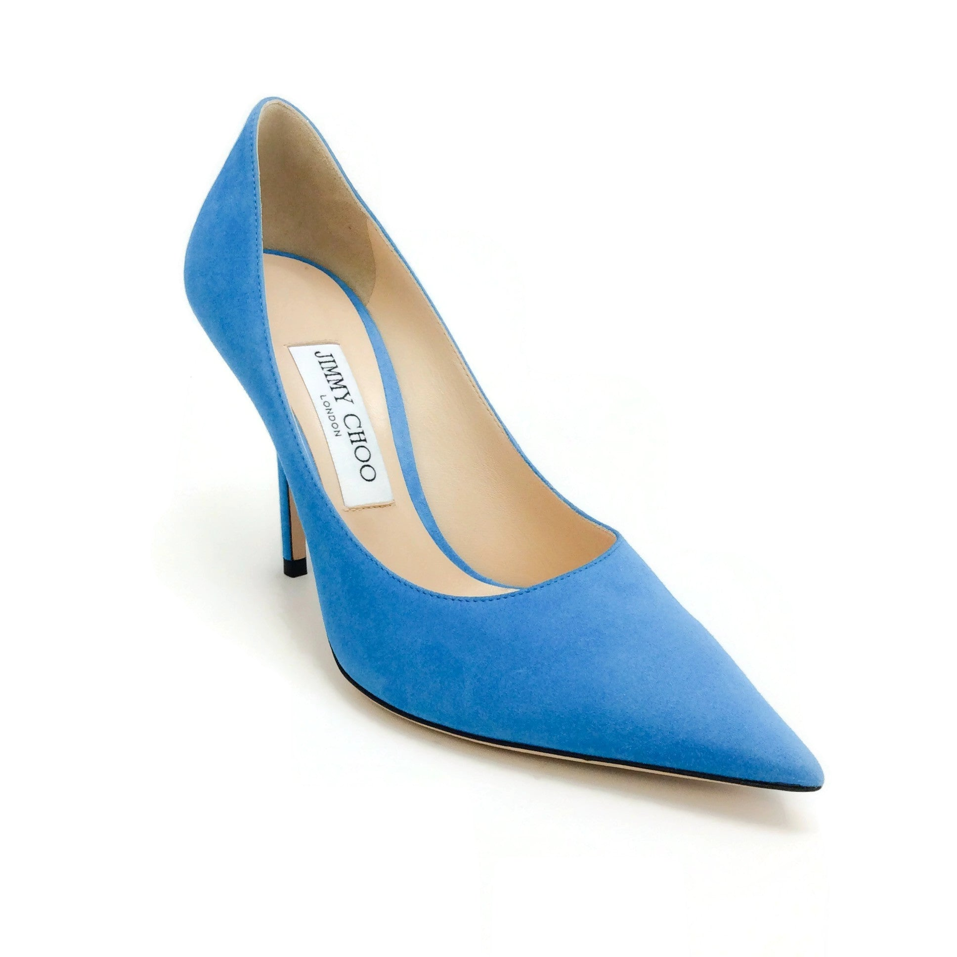 Jimmy Choo Sky Suede Love 100 Pumps