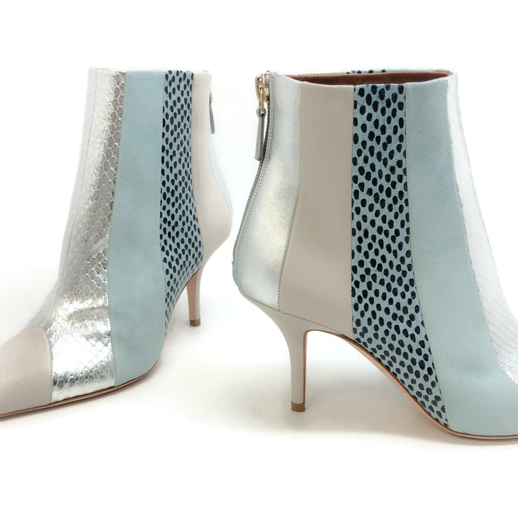 Malone Souliers Blue / Silver Amal Luwolte Boots
