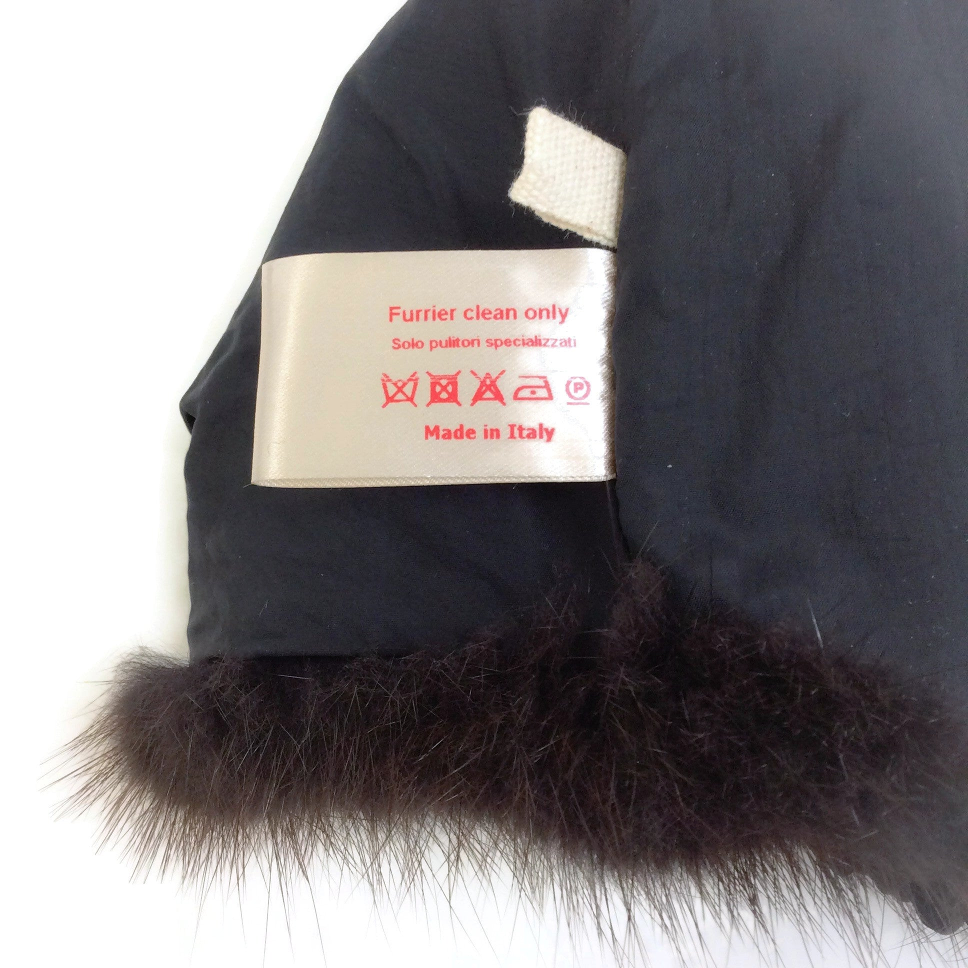 Marni Dark Brown Fur Shrug