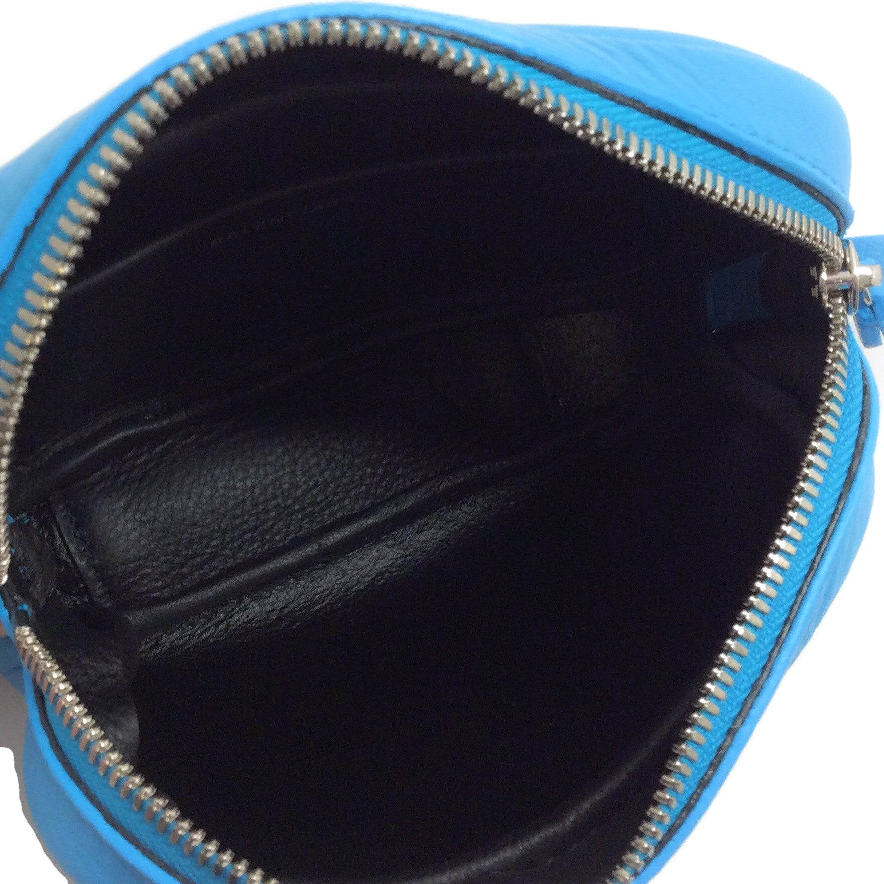 Balenciaga Turquoise Leather Kitten Everyday Camera Bag XS