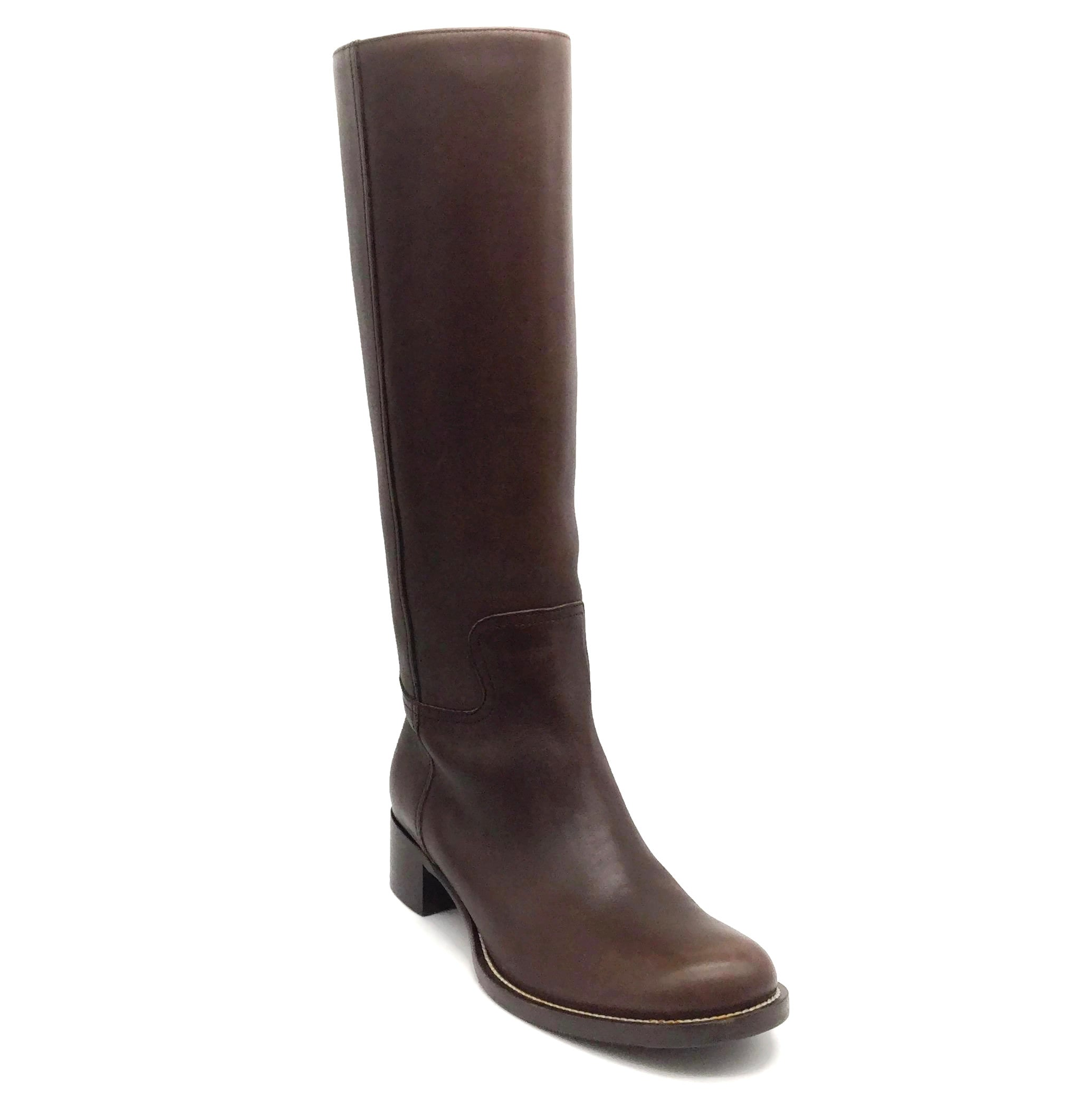 Miu Miu Brown Tall Riding Boots