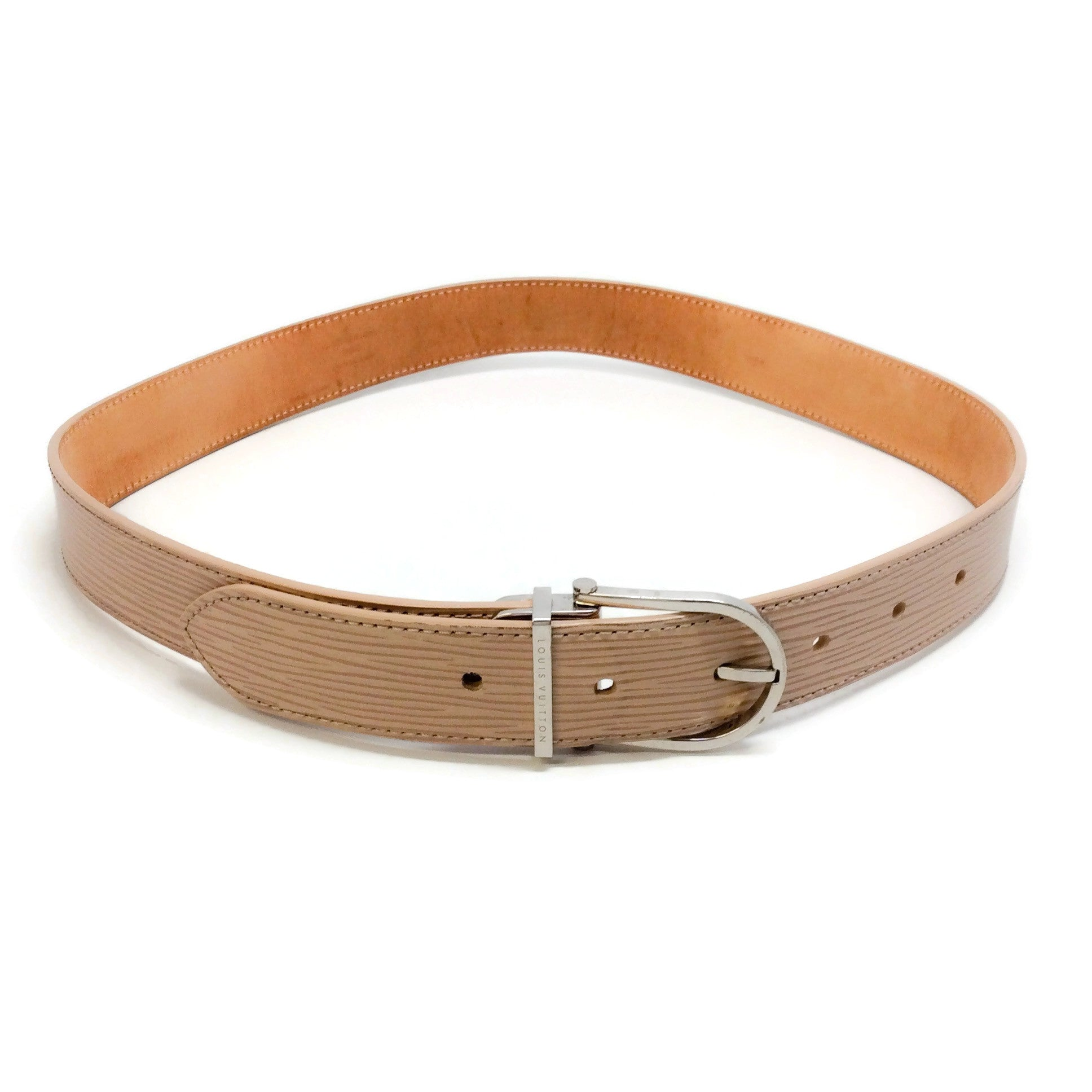 Louis Vuitton Tan Epi Belt