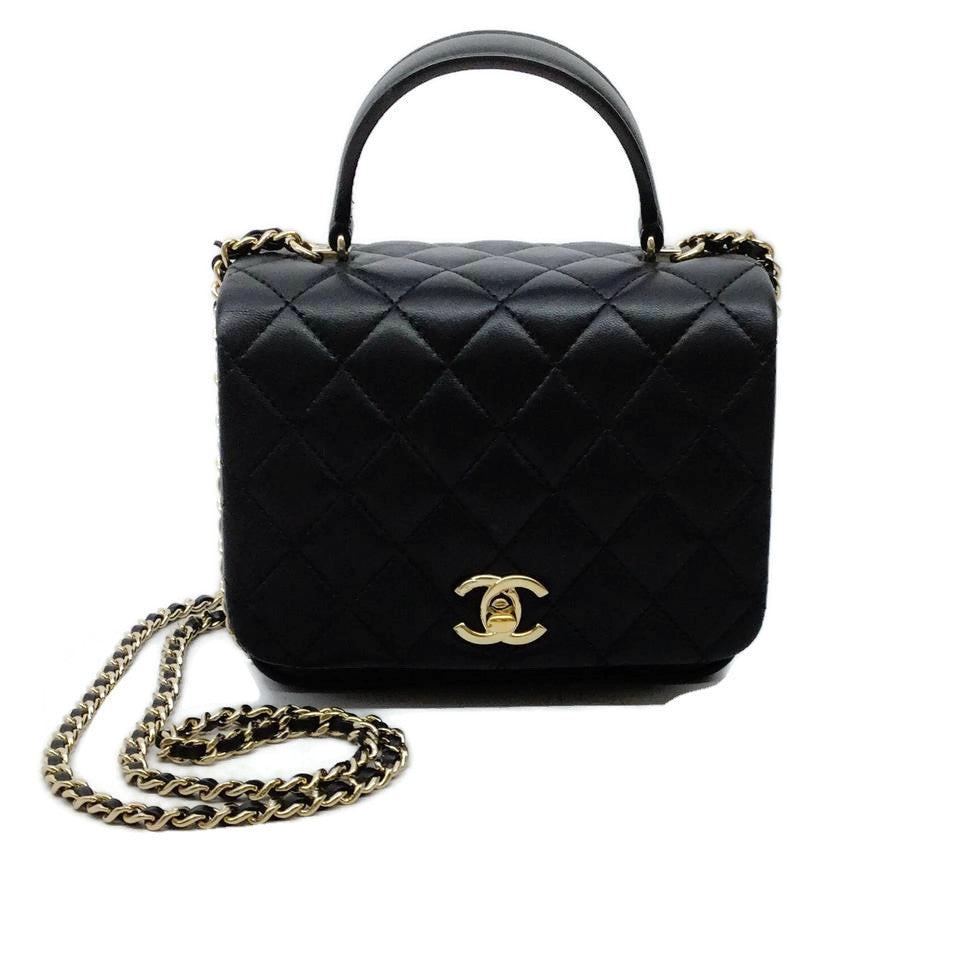Chanel Citizen Chic Black Leather Shoulder Bag