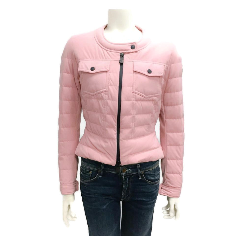 Moncler Pink Grenoble Down Coat