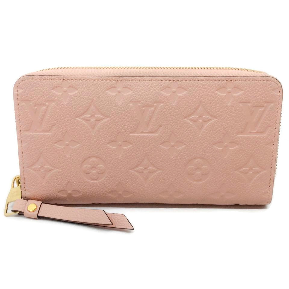 Louis Vuitton Rose Poudre Zippy Empreinte Wallet