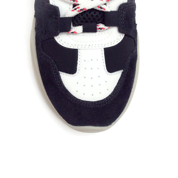 Isabel Marant Black Kindsay Mountain Sneakers