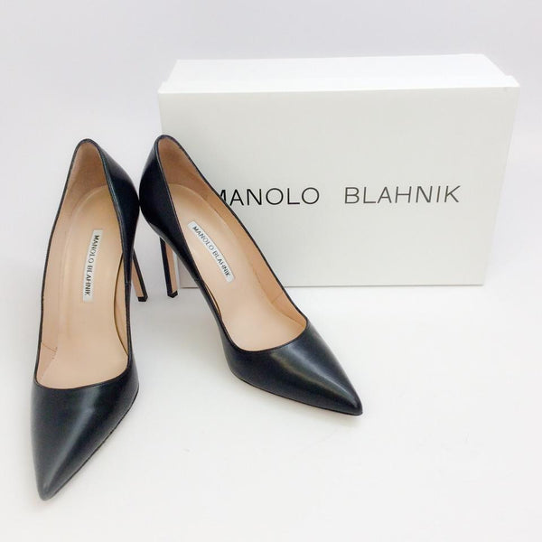 BB 105 Black Pumps by Manolo Blahnik with box