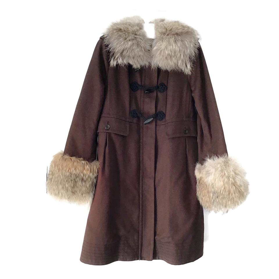 Marc by Marc Jacobs Brown Sherpa/Coyote Coat