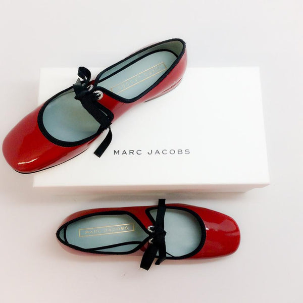 Mary Jane With Bow Red by Marc Jacobs with box