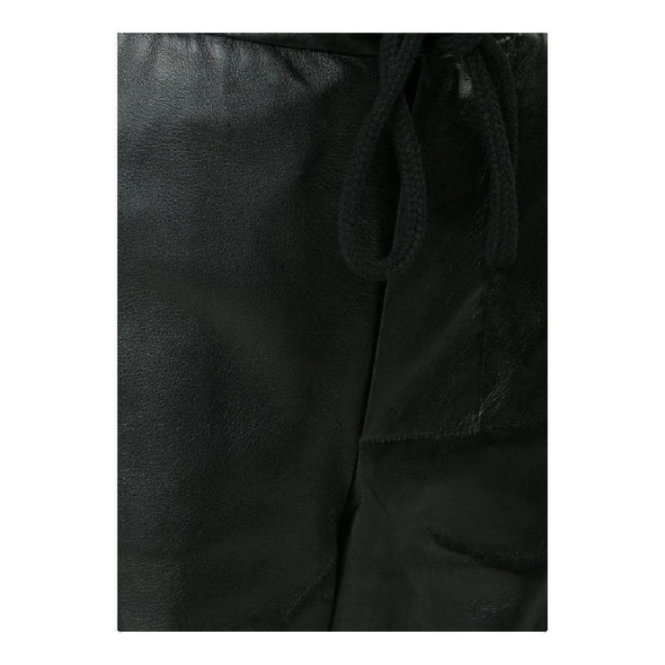 Marni Black Leather Pants