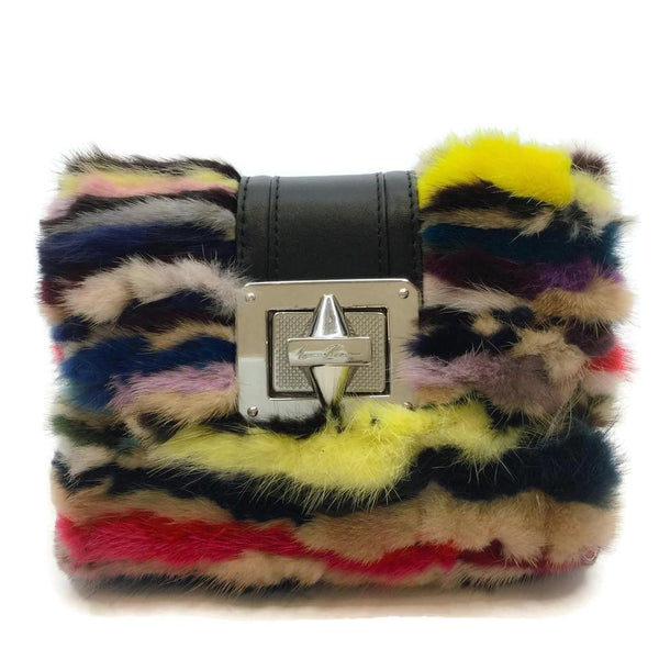 Emm Kuo Mink Multicolored Cross Body Bag