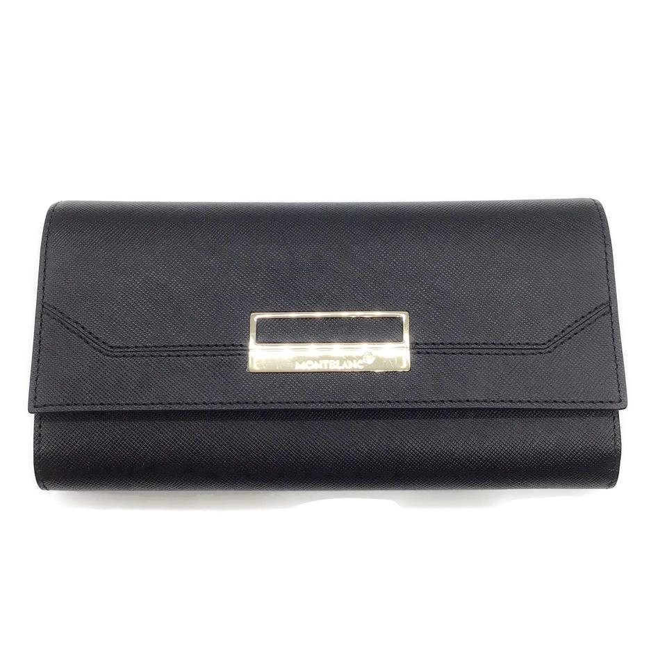 Montblanc Black Textured Wallet