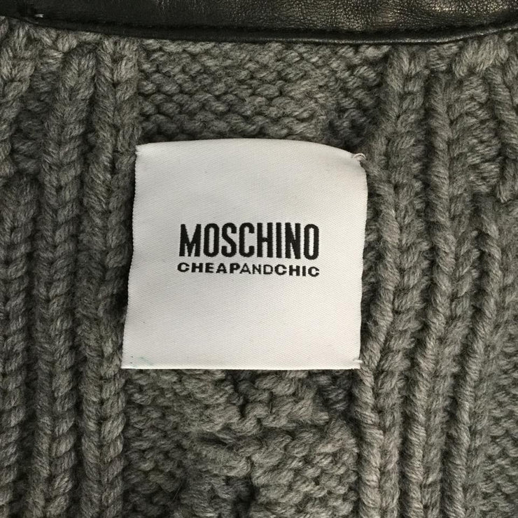 Moschino C&C Black/Grey Knit Sweater