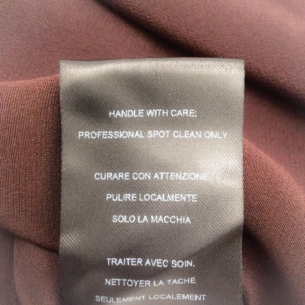 Narciso Rodriguez Brown Paillette Bodice Dress
