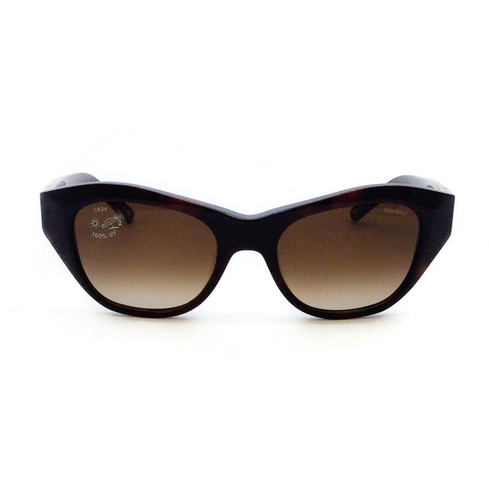 Nina Ricci Brown Nr 3700 Cat Eye Sunglasses
