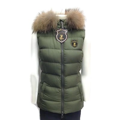 Eleven Elves Olive Down Puff Vest