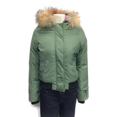 Eleven Elves Olive Urban Excursion Down Coat