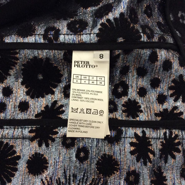 Mohair Embroidered Coat by Peter Pilotto tag