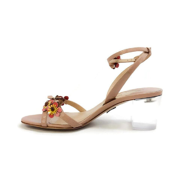 Floella Nude Sandals by Paul Andrew inside