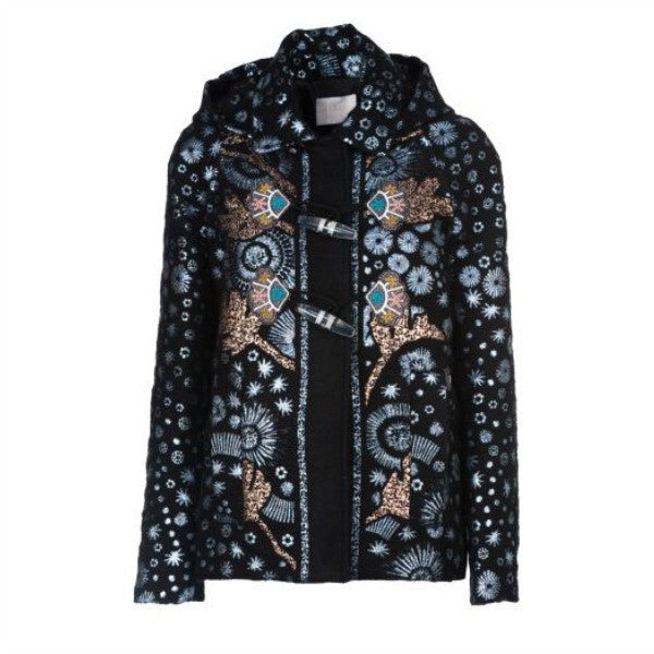 Mohair Embroidered Coat by Peter Pilotto