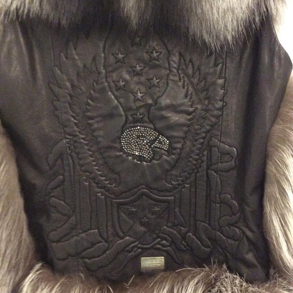 Got Your Soul Vest by Phillip Plein embossed detail