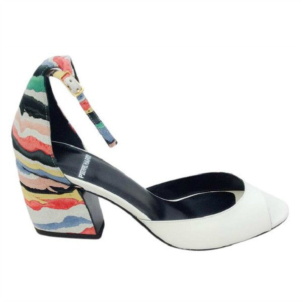 Calamity Ka03 White / Multi Sandals by Pierre Hardy