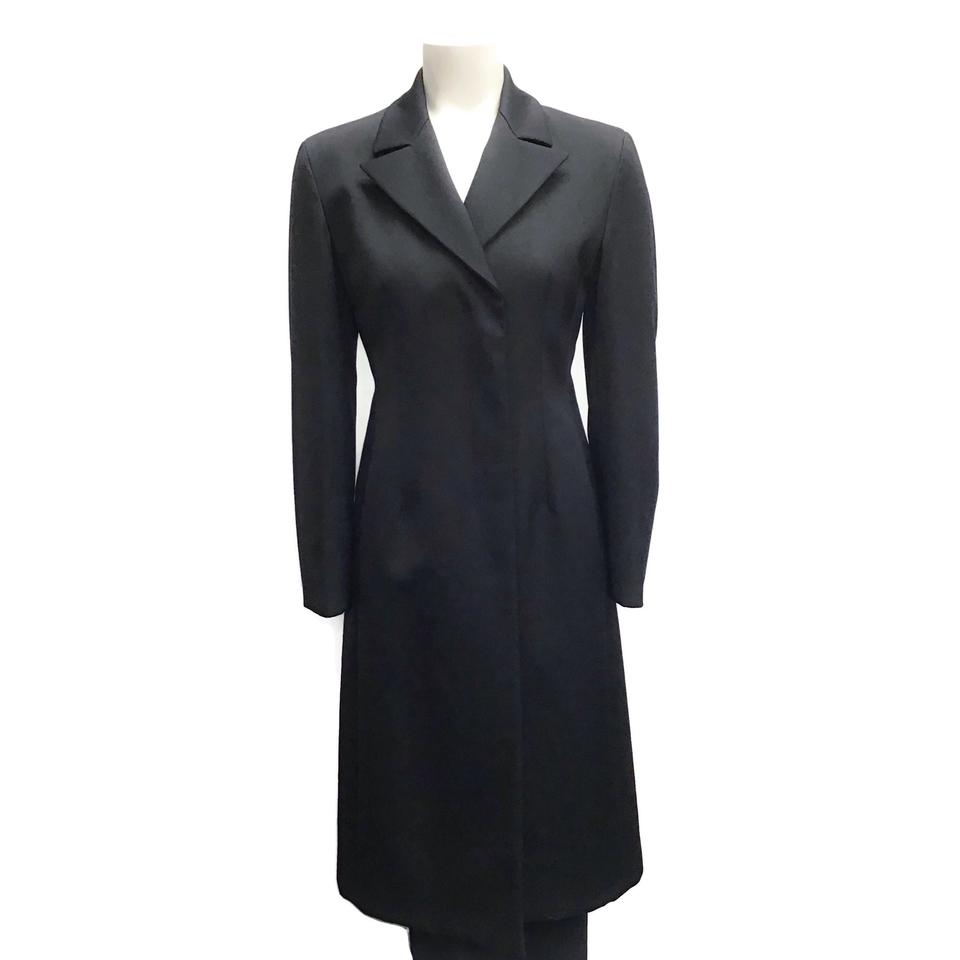 Prada Black Long Coat