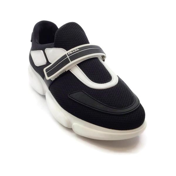 Prada Black / White Cloudbust Sneakers