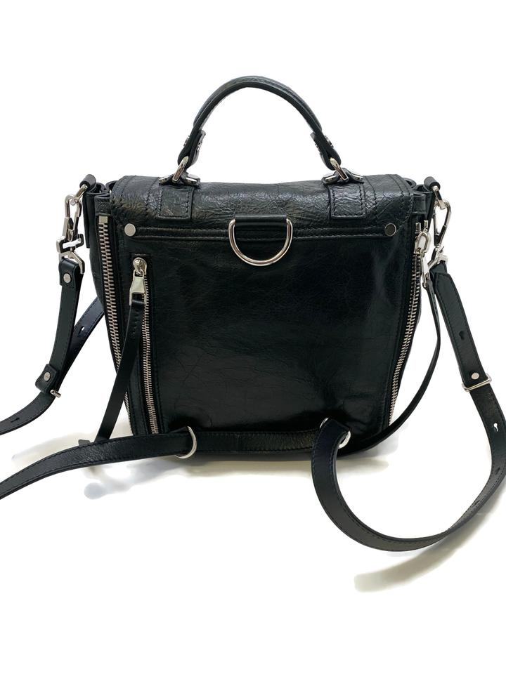 Proenza Schouler Ps1 Paper Black Lambskin Leather Backpack