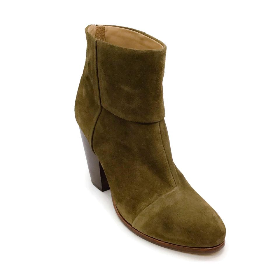 Rag & Bone Taupe Suede Booties
