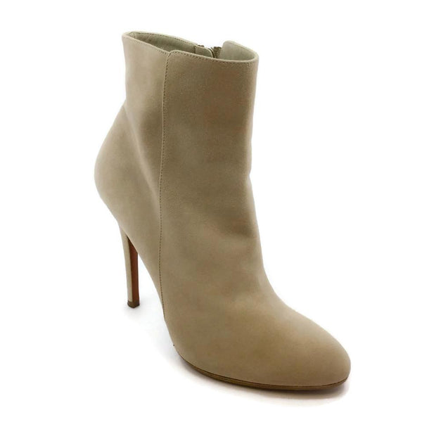 Ralph Lauren Collection Beige Zip Boots