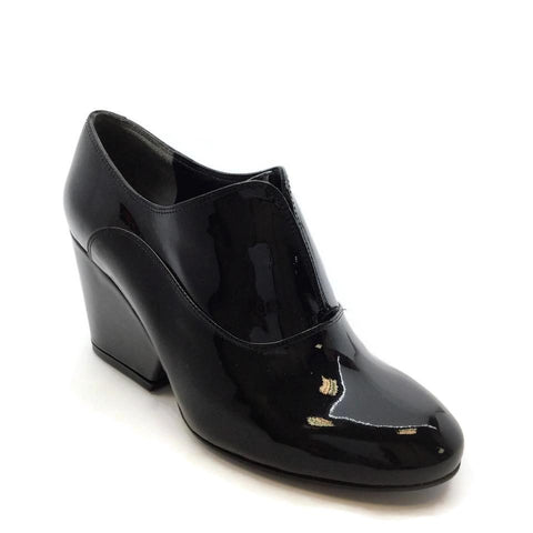 Robert Clergerie Black Tevor Oxford Wedges