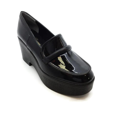 Robert Clergerie Black Xocole Wedges