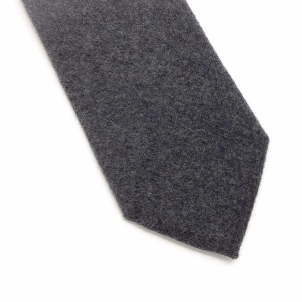 Gray Wool Men's Tie by Giorgio Armani
